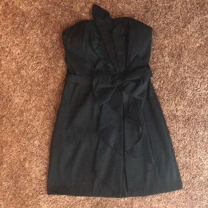 Little Black Strapless Dress Sz Small